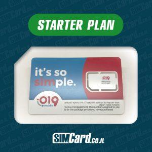 019 Mobile Prepaid SIM Card