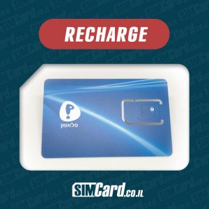 Pelephone Plans to Recharge your Pelephone Prepaid SIM card