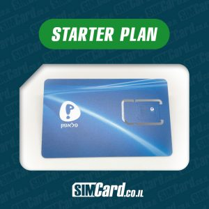 Pelephone Prepaid SIM Card