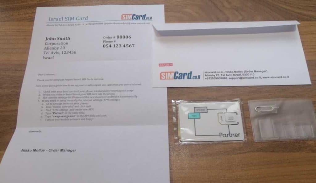 Orange Partner Prepaid SIM-Karten-Pack