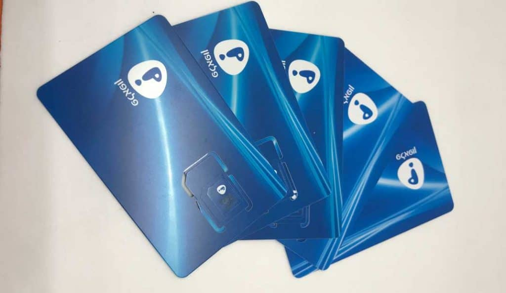 Pelephone Prepaid SIM card